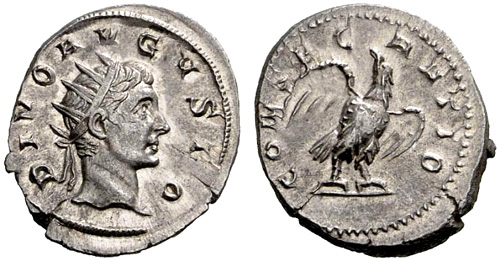 Roman coin - Augustus - Ae Antoninianus